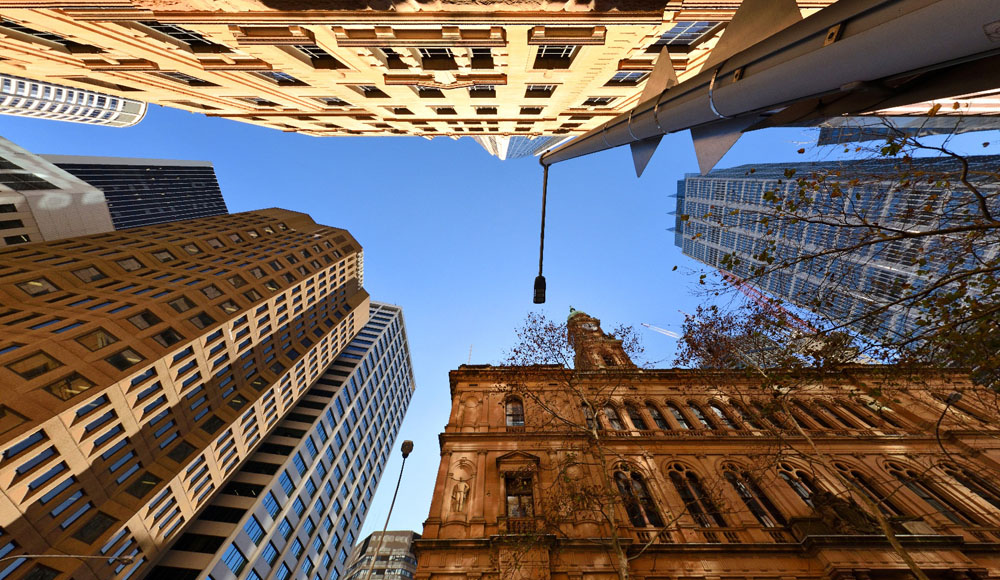 Lands Office, Bent St Sydney CBD