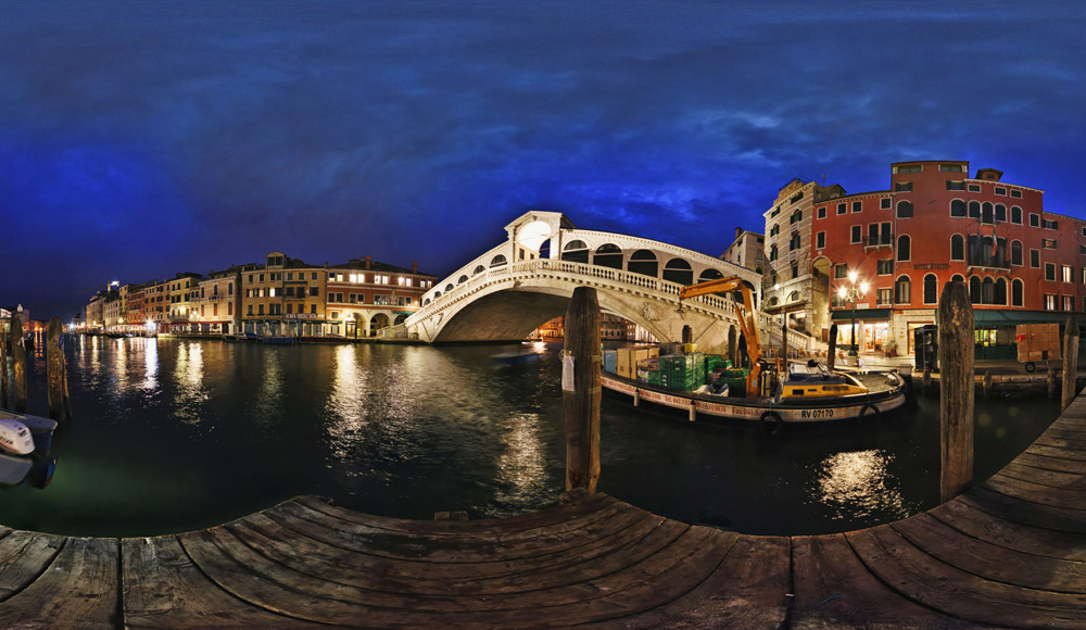 Rialto Bridge, Dawn, Venice