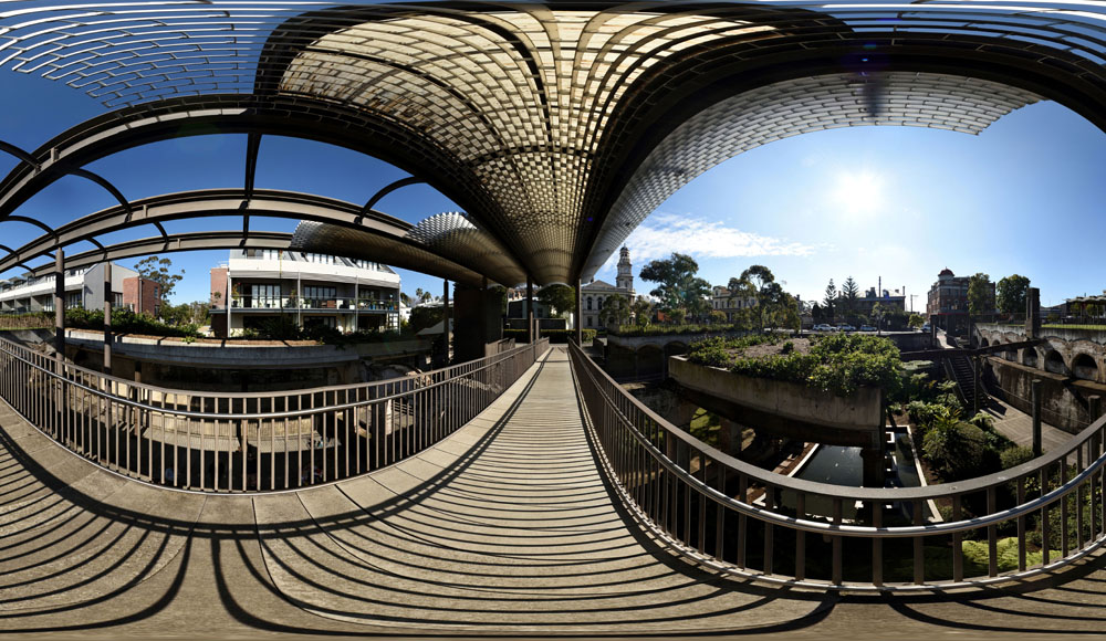 Urban Architecture in 360, Paddington Gardens public park